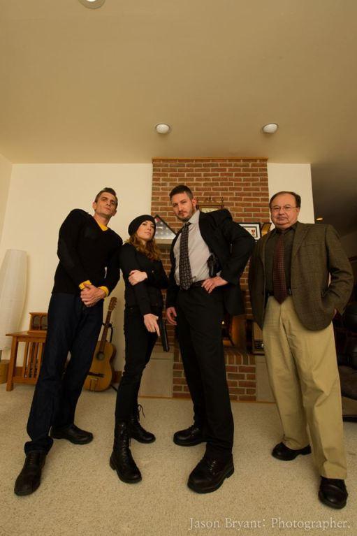 Ken Dusek, me, Jason Fincher, TJ Martin.