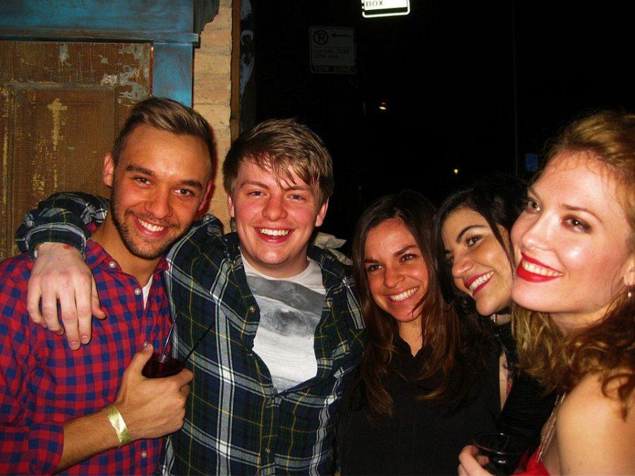 Dan, Tyler, Amber, Leeron, & Me.