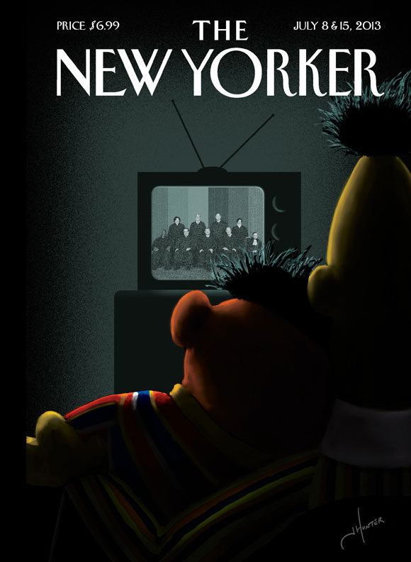 The New Yorker's brilliant cover this week.